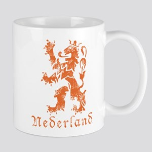 Netherlands - Lion - Orange Mug