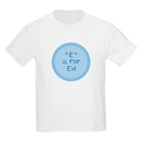 """""""E"""" is for Eid Kids T-Shirt (baby blue)"""