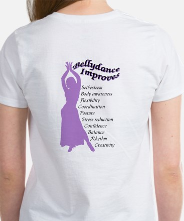 bellydance improves Women's T-Shirt