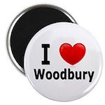 I Love Woodbury Magnet