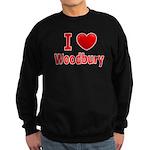 I Love Woodbury Sweatshirt (dark)