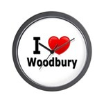 I Love Woodbury Wall Clock