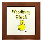 Woodbury Chick Framed Tile