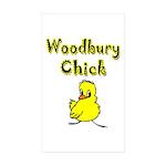Woodbury Chick Rectangle Sticker 50 pk)