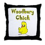Woodbury Chick Throw Pillow