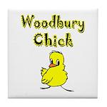 Woodbury Chick Tile Coaster