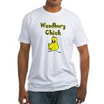 Woodbury Chick Fitted T-Shirt