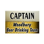 Woodbury Beer Drinking Team Rectangle Magnet (10 p
