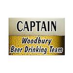 Woodbury Beer Drinking Team Rectangle Magnet (100