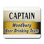 Woodbury Beer Drinking Team Mousepad