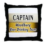 Woodbury Beer Drinking Team Throw Pillow