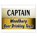 Woodbury Beer Drinking Team Small Poster