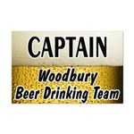 Woodbury Beer Drinking Team Mini Poster Print