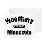 Woodbury Established 1858 Greeting Cards (Pk of 10
