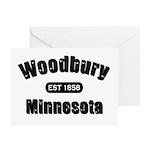 Woodbury Established 1858 Greeting Cards (Pk of 20