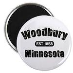 Woodbury Established 1858 Magnet