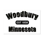 Woodbury Established 1858 Mini Poster Print