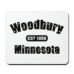 Woodbury Established 1858 Mousepad