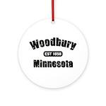Woodbury Established 1858 Ornament (Round)