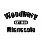 Woodbury Established 1858 Postcards (Package of 8)