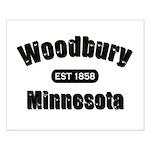 Woodbury Established 1858 Small Poster