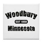 Woodbury Established 1858 Tile Coaster