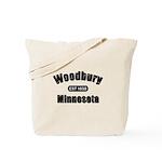 Woodbury Established 1858 Tote Bag