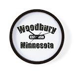 Woodbury Established 1858 Wall Clock