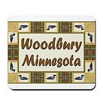 Woodbury Loon Mousepad