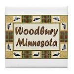 Woodbury Loon Tile Coaster