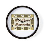 Woodbury Loon Wall Clock