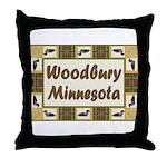 Woodbury Loon Throw Pillow
