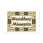 Woodbury Loon Mini Poster Print
