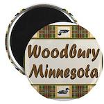 Woodbury Loon Magnet