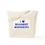 I Love Woodbury Winter Tote Bag