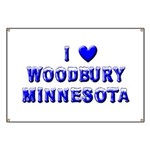 I Love Woodbury Winter Banner