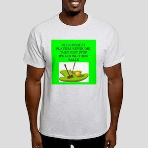 croquet player Light T-Shirt
