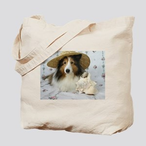 Shells and Pups Tote Bag