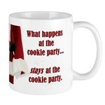 What Happens at the Cookie Party Mug