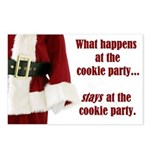 What Happens at the Cookie Party Postcards (Packag