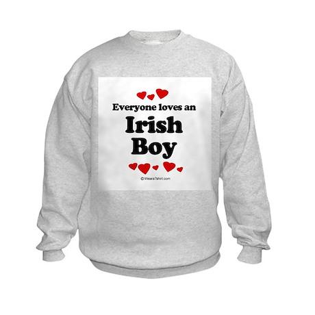 Everyone loves an Irish Boy ~ Kids Sweatshirt