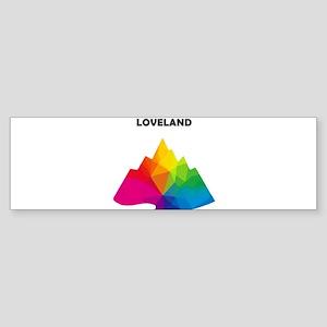 Loveland Ski Area - Georgetown - Bumper Sticker