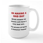 Bad day Large Mug
