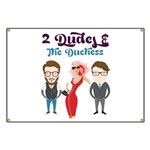 2 Dudes and The Duchess Logo Banner