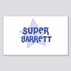 Super Garrett Rectangle Sticker