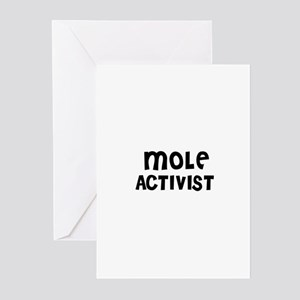 MOLE ACTIVIST Greeting Cards (Pk of 10)
