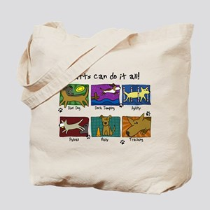 Mutts Do It All Tote Bag