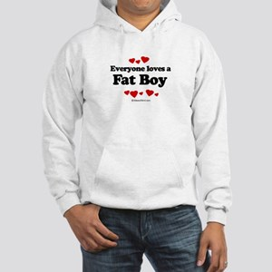 Everyone loves a Fat Boy ~ Hooded Sweatshirt
