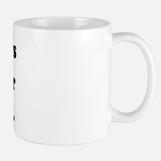 Costumers keep your clothes on. Mug