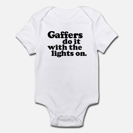 Gaffers do it with the lights Infant Creeper